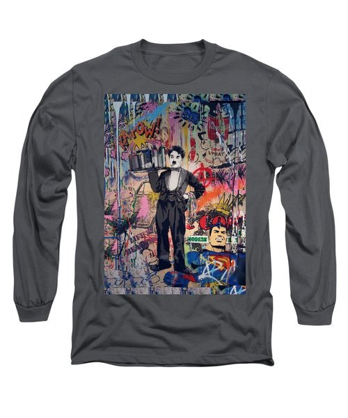 Collageiscope  Long Sleeve T-Shirt