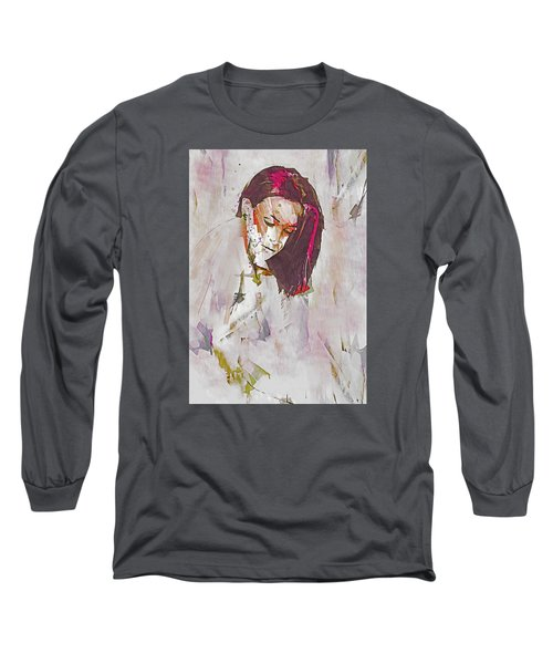 Long Sleeve T-Shirt featuring the digital art Collections by Galen Valle