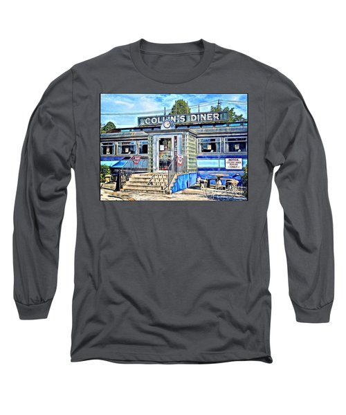 Collin's Diner New Canaan,conn Long Sleeve T-Shirt