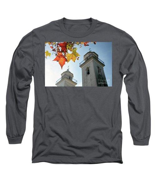 Long Sleeve T-Shirt featuring the photograph Colonia Del Sacramento Church by Bernardo Galmarini