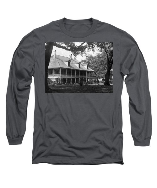 Colonial Home Long Sleeve T-Shirt