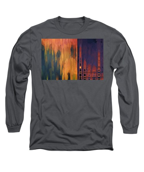 Color Abstraction Liv Long Sleeve T-Shirt