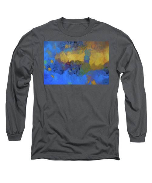 Color Abstraction Lviii Long Sleeve T-Shirt by David Gordon