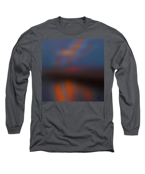 Color Abstraction Lxiii Sq Long Sleeve T-Shirt by David Gordon