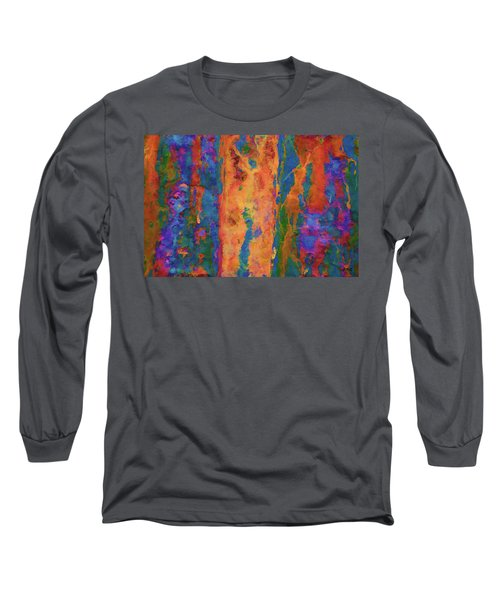 Color Abstraction Lxvi Long Sleeve T-Shirt