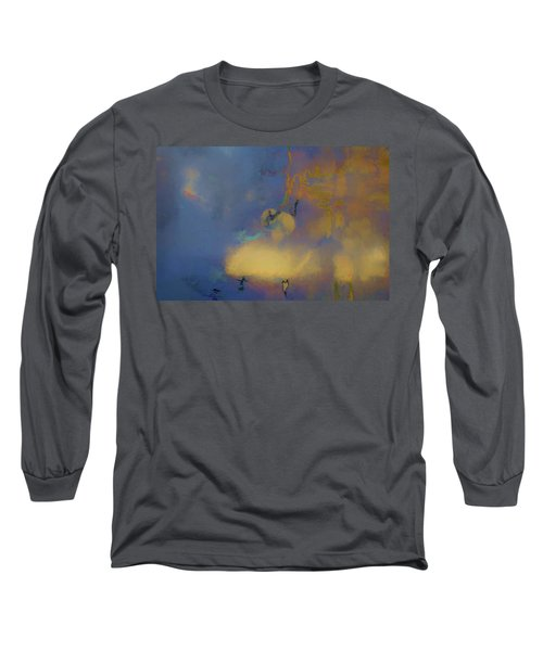 Color Abstraction Lxviii Long Sleeve T-Shirt by David Gordon