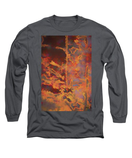 Long Sleeve T-Shirt featuring the photograph Color Abstraction Lxxi by David Gordon