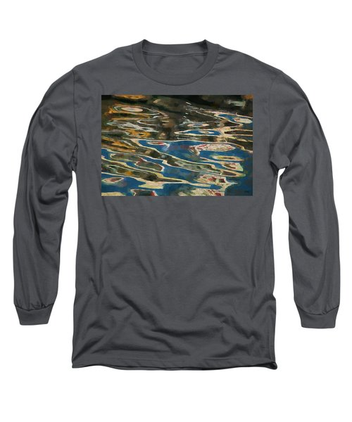 Color Abstraction Lxxv Long Sleeve T-Shirt by David Gordon