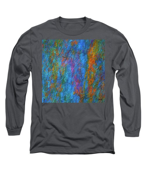 Color Abstraction Xiv Long Sleeve T-Shirt by David Gordon