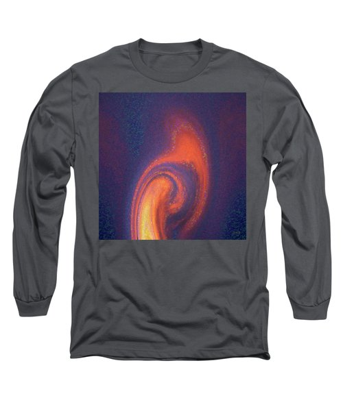 Color Abstraction Xlii Long Sleeve T-Shirt by David Gordon