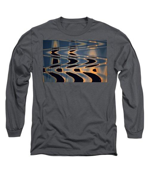 Color Abstraction Xxiv  Long Sleeve T-Shirt by David Gordon