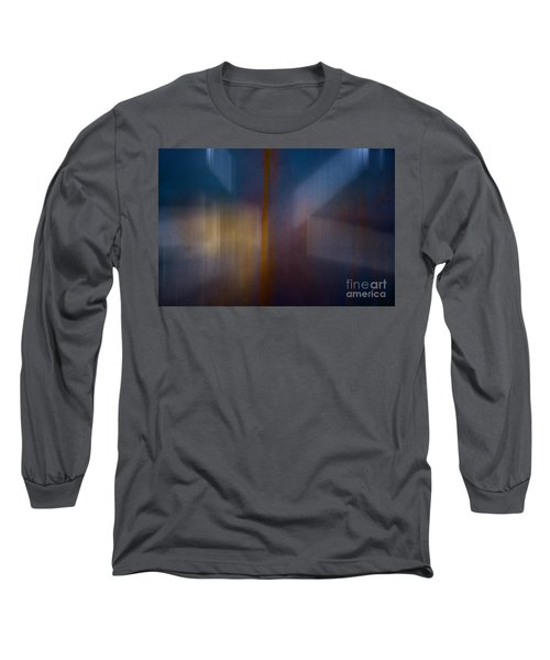 Color Abstraction Xxix Long Sleeve T-Shirt by David Gordon