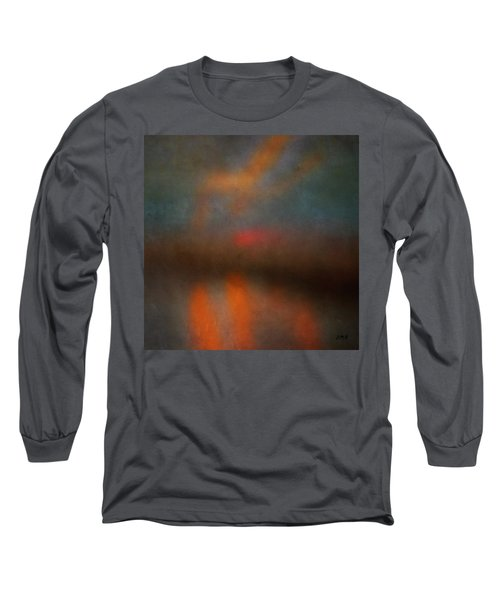 Color Abstraction Xxv Long Sleeve T-Shirt by David Gordon