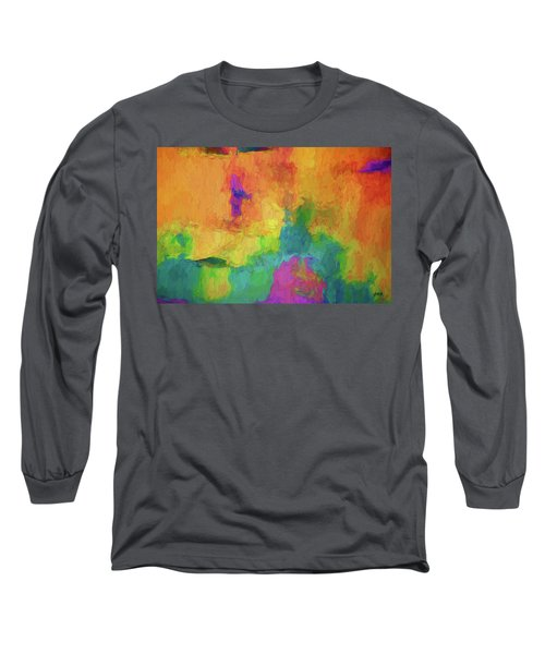 Color Abstraction Xxxiv Long Sleeve T-Shirt