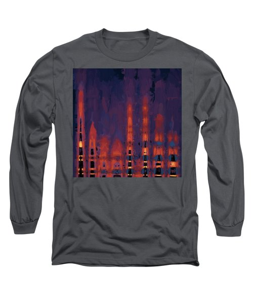 Color Abstraction Xxxviii Long Sleeve T-Shirt