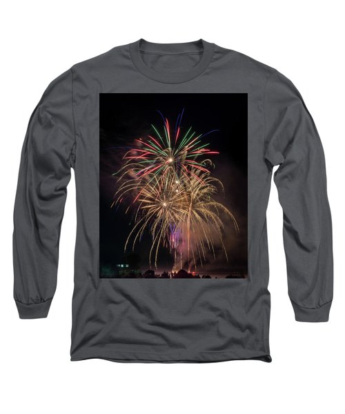 Long Sleeve T-Shirt featuring the photograph Color And Chaos by Bill Pevlor