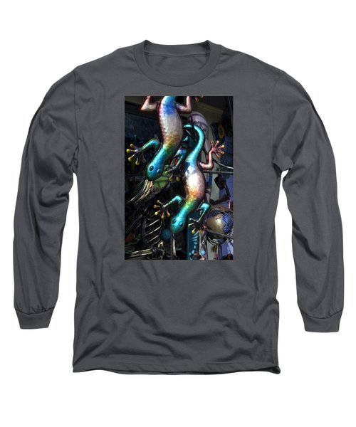 Long Sleeve T-Shirt featuring the photograph Color Caudata by Allen Carroll