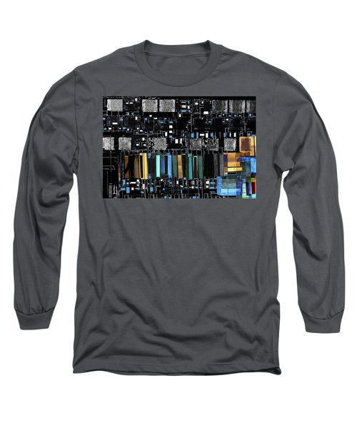 Color Chart Long Sleeve T-Shirt by Don Gradner