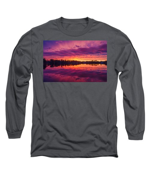 Color Explosion Sunset Long Sleeve T-Shirt