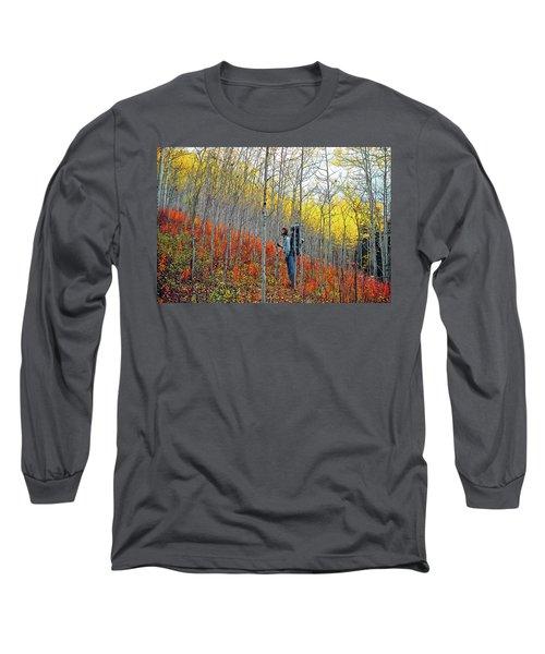 Color Fall Long Sleeve T-Shirt