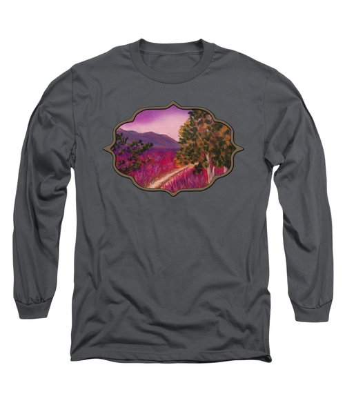 Color It Purple Long Sleeve T-Shirt