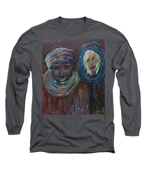 Color Of Winter Long Sleeve T-Shirt