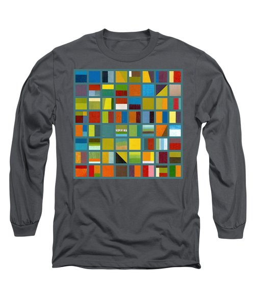 Color Study Collage 67 Long Sleeve T-Shirt