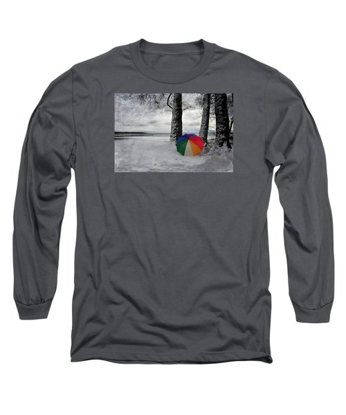 Color To The Melancholy Long Sleeve T-Shirt by Randi Grace Nilsberg