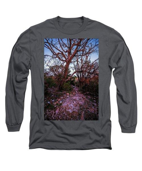 Colorado Bend State Park Gorman Falls Trail #3 Long Sleeve T-Shirt
