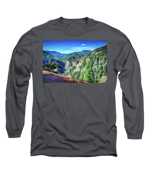 Colorado Haven Long Sleeve T-Shirt by Deborah Klubertanz