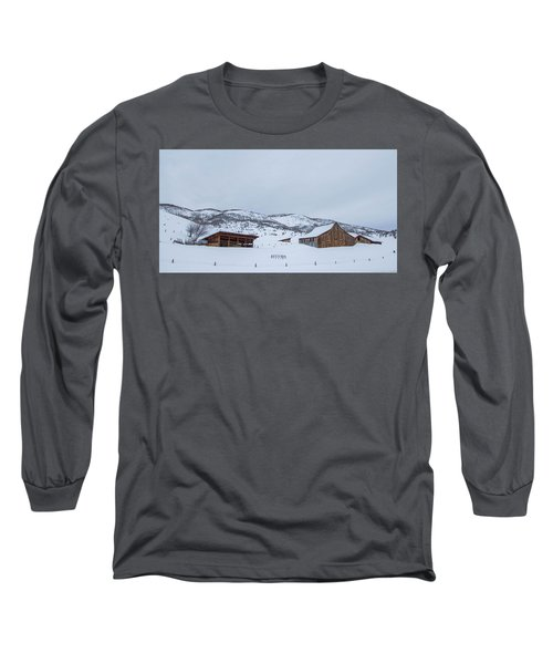 Colorado Ranch Long Sleeve T-Shirt by Sean Allen