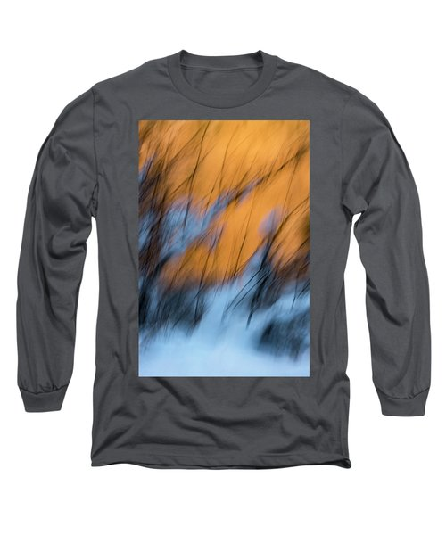 Colorado River Snow Banks Long Sleeve T-Shirt