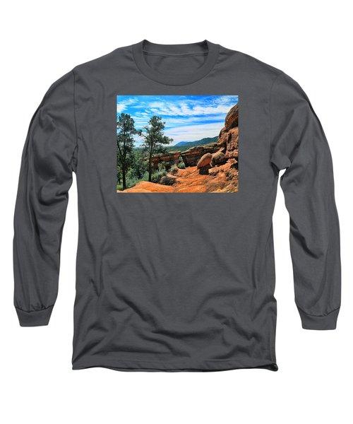 Colorado Rocks Long Sleeve T-Shirt by John Bushnell