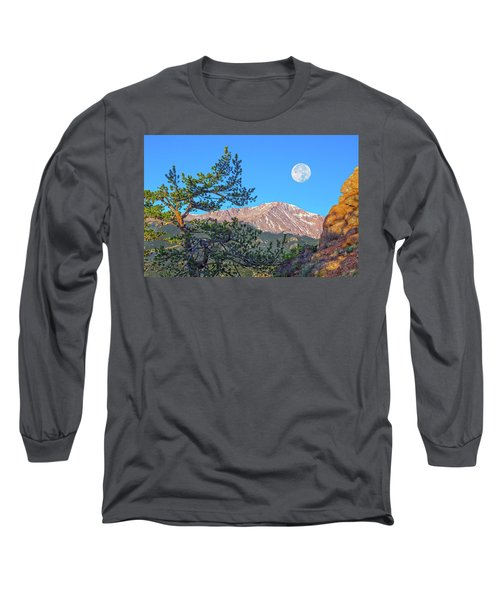 Colorado Rocky Mountain High, Just A Breath Away From Heaven Long Sleeve T-Shirt