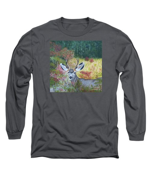 Colorado White Tail Deer Long Sleeve T-Shirt