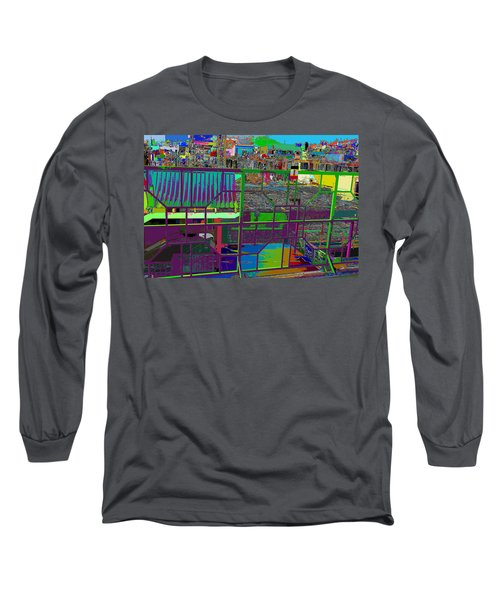 colorfication of Chinatown  Long Sleeve T-Shirt