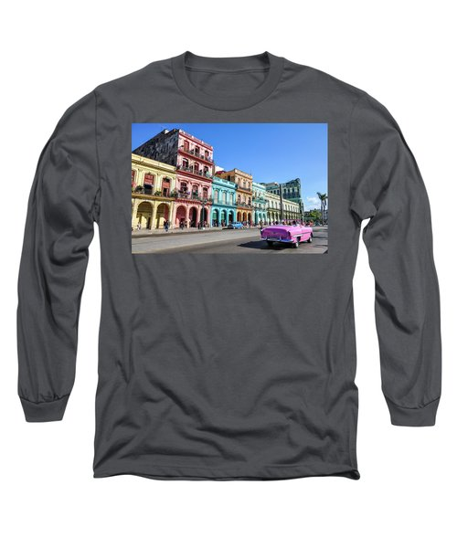 Colorful Havana Long Sleeve T-Shirt