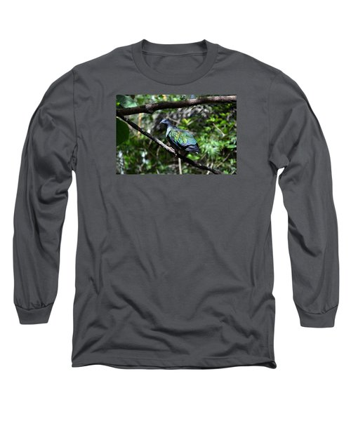 Colorful Long Sleeve T-Shirt by Nikki McInnes