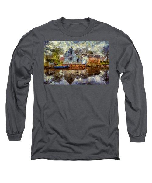 Colorful Serenity Long Sleeve T-Shirt