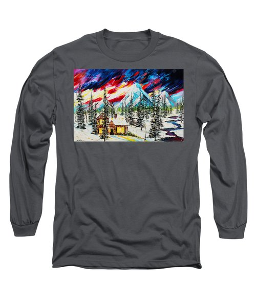 Colorful Sky Long Sleeve T-Shirt