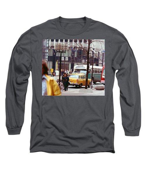 Colorful Transportation Long Sleeve T-Shirt