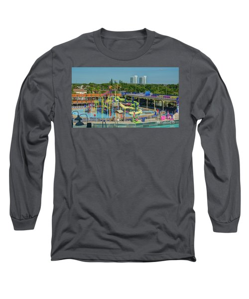 Colorful Water Park Long Sleeve T-Shirt
