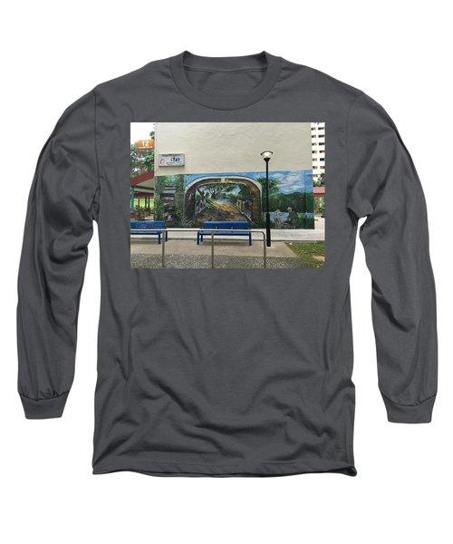 Coloring Holland V Wall 1 - Memories Long Sleeve T-Shirt