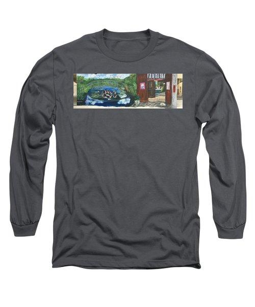 Coloring Holland V - Wall Three Long Sleeve T-Shirt