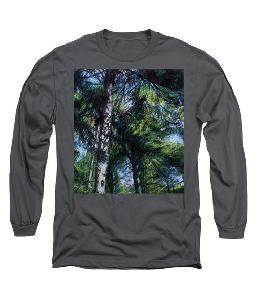 Colors Of Green Long Sleeve T-Shirt