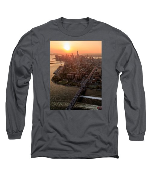 Long Sleeve T-Shirt featuring the photograph Colors Of Ny by Anthony Fields