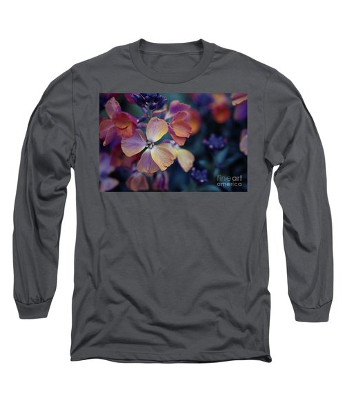 Colors Of Spring Long Sleeve T-Shirt by Eva Lechner