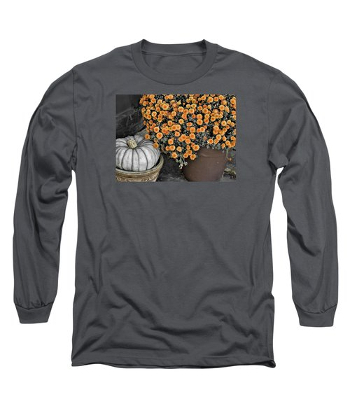 Colors Of The Fall Long Sleeve T-Shirt by JAMART Photography