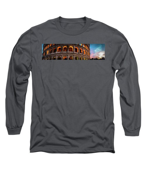 Colosseum In Rome, Italy Long Sleeve T-Shirt