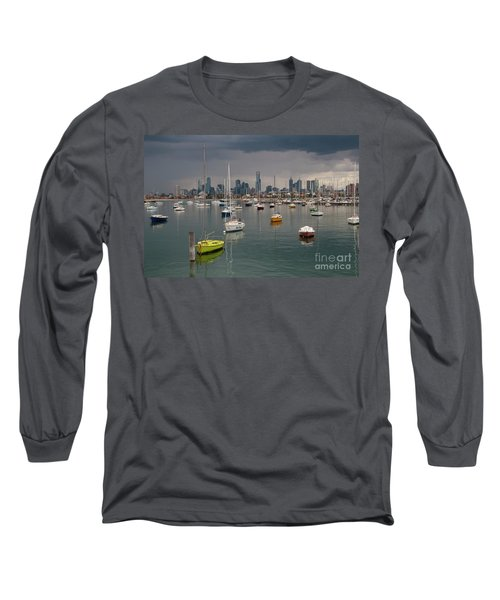 Colour Of Melbourne 2 Long Sleeve T-Shirt by Werner Padarin